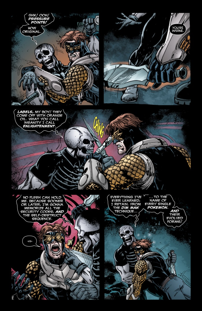 Lời tuyên bó của Lord Death Man, trong Talon #17