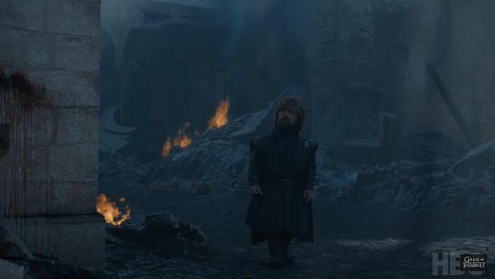 Tyrion cảm thấy vô lực trước người mà mình từng bên cạnh cố vấn.
