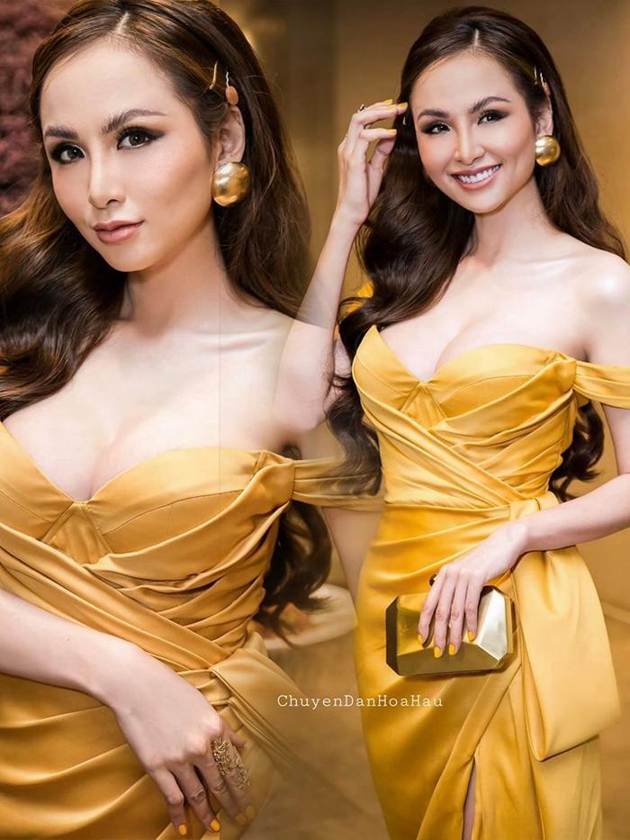 Hoa hậu Diễm Hương mỗi lần tái xuất là một lần gây xôn xao