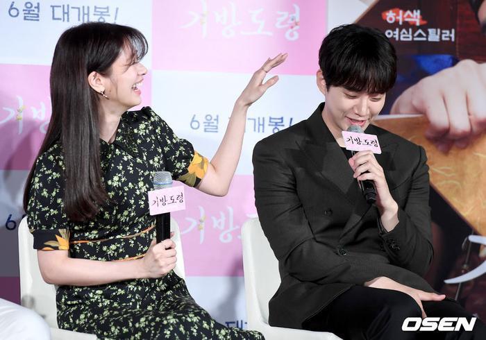Lee Junho, Jung So Min và Gong Myung rạng rỡ tại họp báo phim điện ảnh Homme Fatale ảnh 10