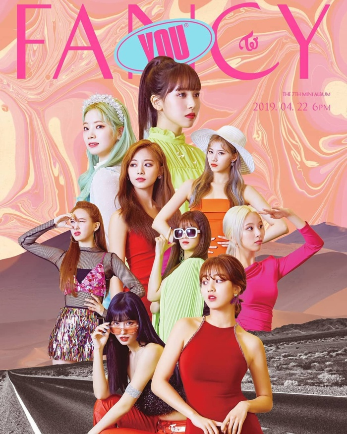 Hình ảnh mới mẻ của nhóm trong MV Fancy.