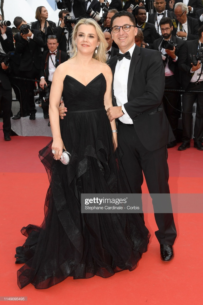 Maxime Saada và vợ Sylvie Saada