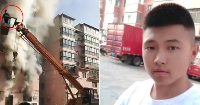 Anhhùng Lam Tuấn Trạch (19 tuổi) liều mình cứu sống 14 người chỉ trong 30 phút