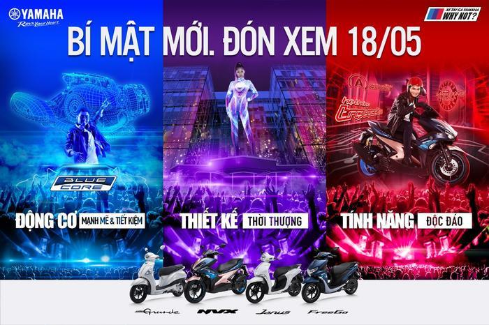 Ba giá trị cốt lõi của xe tay ga Yamaha được thể hiện ấn tượng và độc đáo trong hình ảnh mới của chiến dịch.