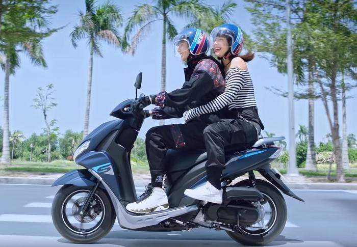 Yamaha FreeGo - mẫu xe vừa được trình làng vào đầu tháng 4/2019.