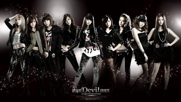 Các cô nàng thay đổi phong cách trong Run Devil Run.
