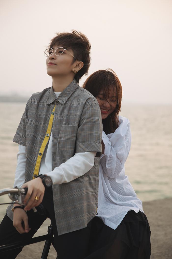 Phương Lan - người Gil Lê dành tình cảm trong MV Người mình yêu chưa chắc đã yêu mình.