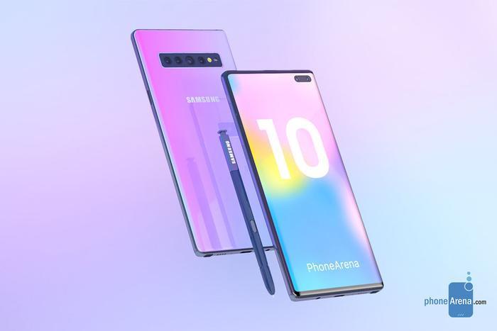 Ảnh dựng Samsung Galaxy Note10.