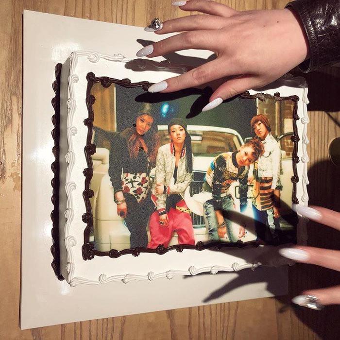 Chiếc bánh sinh nhật cực kỳ ý nghĩa.