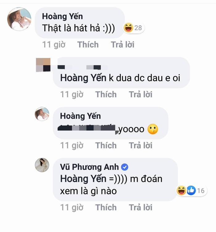 """Hoàng Yến Chibi vào """"vặn vẹo"""" Jun Vũ và nhận được câu trả lời từ cô nàng…"""