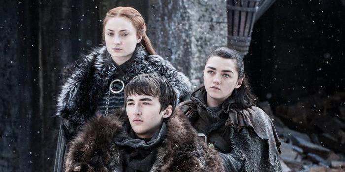 Cuộc hội ngộ ngắn ngủi kết thúc khi anh em nhà Stark lại phải xa nhau.