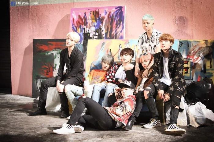 Các chàng trai BTS.