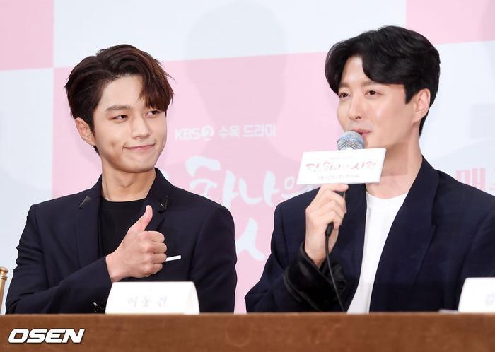 Họp báo Dan Only Love: Shin Hye Sun thùy mị bên L (Infinite) và tài tử Lee Dong Gun ảnh 20