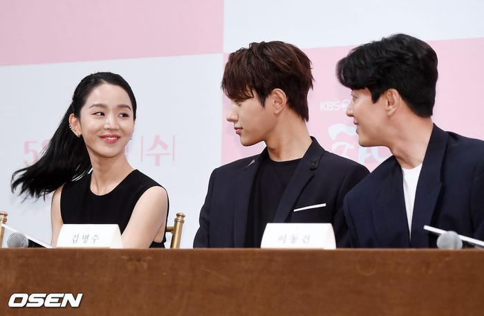 Họp báo Dan Only Love: Shin Hye Sun thùy mị bên L (Infinite) và tài tử Lee Dong Gun ảnh 18