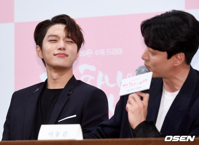 Họp báo Dan Only Love: Shin Hye Sun thùy mị bên L (Infinite) và tài tử Lee Dong Gun ảnh 19