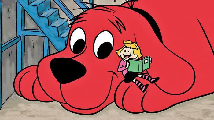 Chú chó đỏ to lớn Clifford.