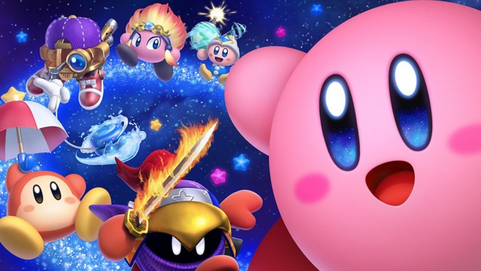 Kirby và những người bạn đáng yêu.