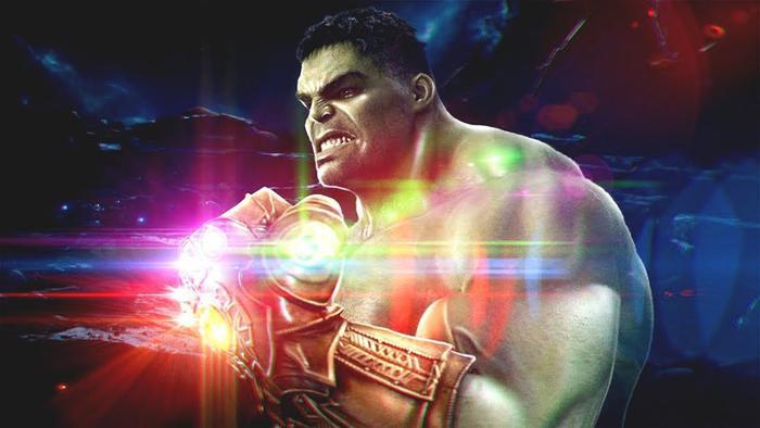 Hulk đã hy sinh cánh tay phải để mang mọi người trở về từ cú búng của Thanos.