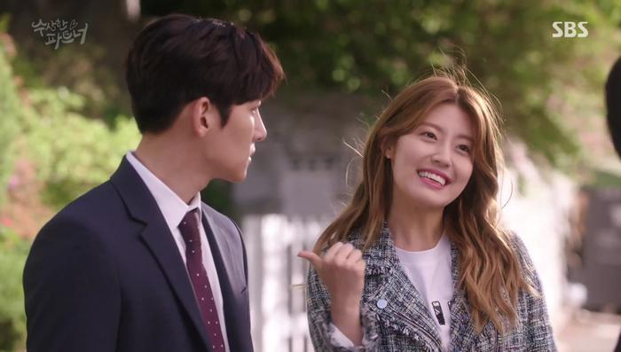Cùng với nữ luật sư mới ra trường Eun Bong Hee. (Nguồn ảnh: SBS)
