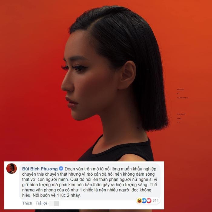 """Các fan cười no nê với bình luận giải thích """"văn mẫu"""" của Bích Phương."""
