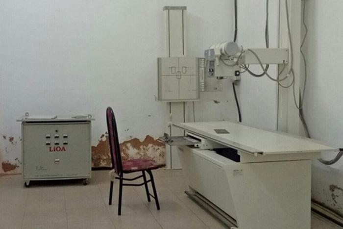 Phòng chụp X quang nơi thu được mẫu vật tinh trùng. Ảnh: báo VOV.