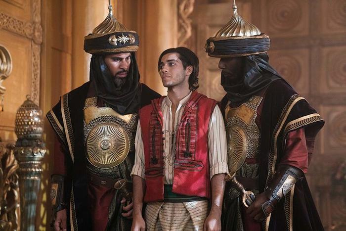 Tạo hình của Aladdin từng gây nhiều tranh cãi.