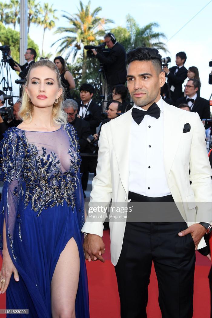 Lorelei Taron và Radamel Falcao