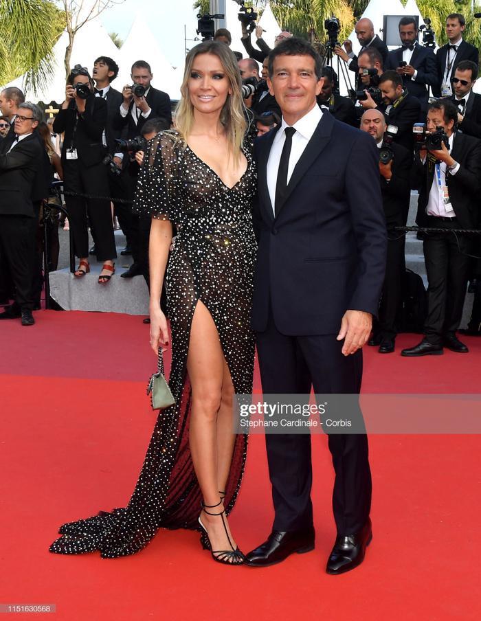 Nicole Kimpel và Antonio Banderas