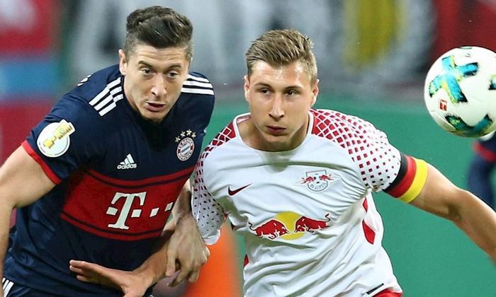 Bayern chơi mờ nhạt ở những phút đầu trận.