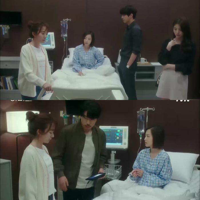Se Yeon tỉnh dậy và giải thích tình hình.