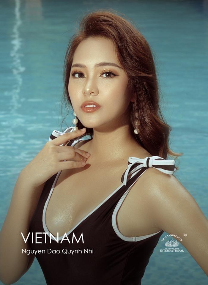 Hình ảnh chính thức của đại diện Việt trên trang chủ cuộc thi.