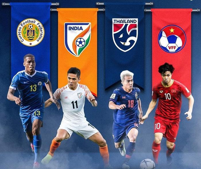 Công Phượng và các đồng đội sẽ có dịp đọ sức cùng Thái Lan, Ấn Độ và Curacao ở King's Cup 2019.