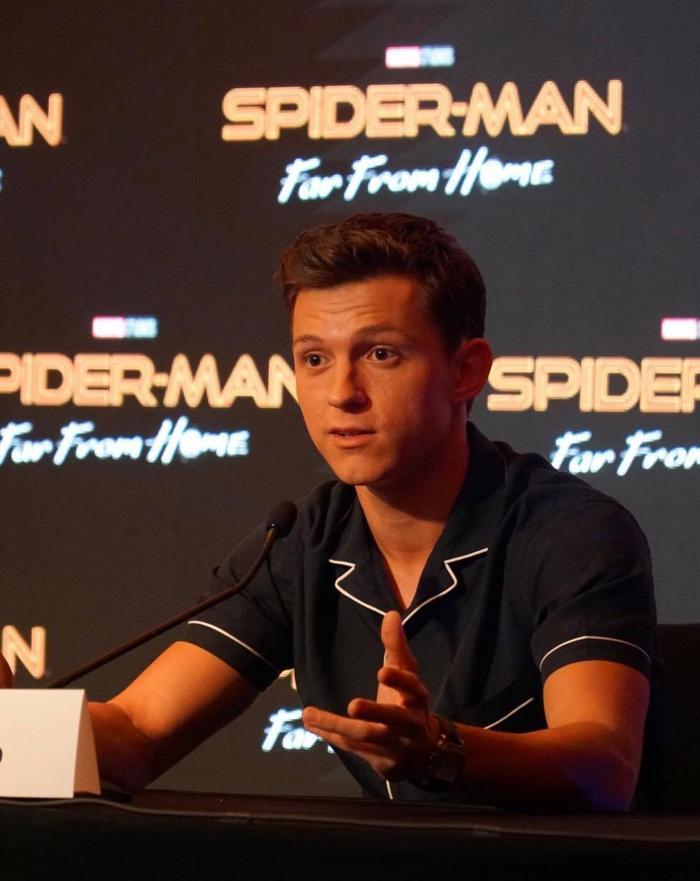 Tom Holland rất yêu Bali và hứa sẽ trở lại để du lịch hoặc quay phim.