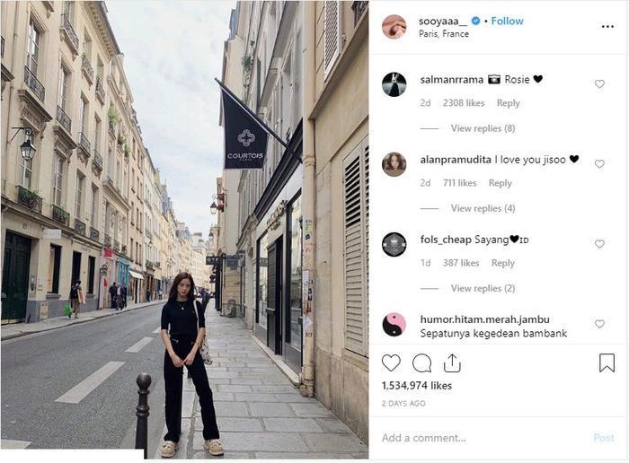 Jisoo (Black Pink) phê bình kỹ năng chụp ảnh của quản lý trên Instagram ảnh 3
