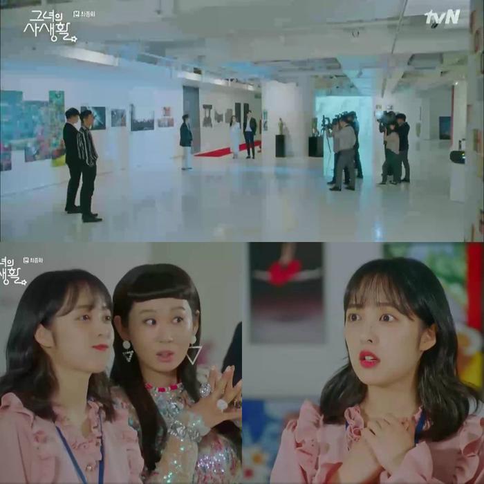 Cindy chứng tỏ được năng lực trong triển lãm của Si Ahn.