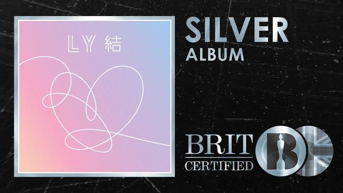 Chứng nhận Bạc cho album Love Yourself: Answer.