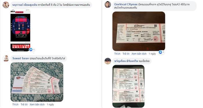 CĐV Thái Lan phe vé trên mạng xã hội