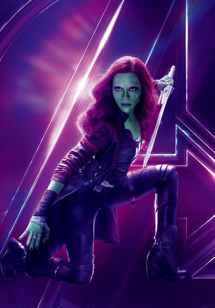 Gamora - con gái Thanos