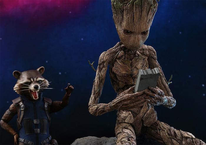 Rocket và Groot