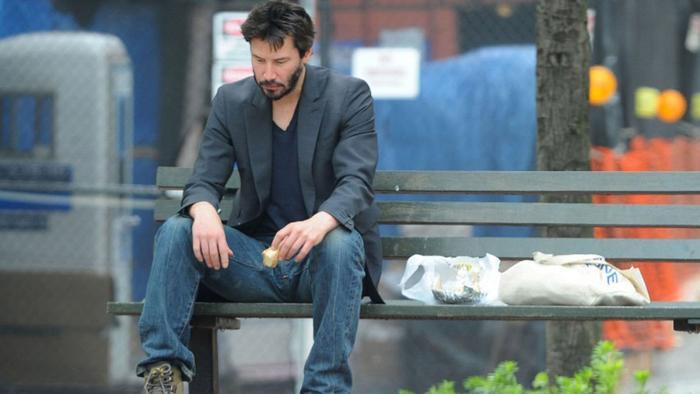 """Bức ảnh """"Sad Keanu"""" nổi tiếng từng làm mưa làm gió mạng xã hội."""