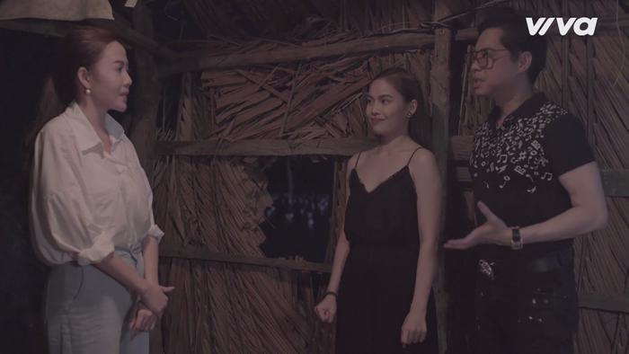 Các thí sinh đội Ngọc Sơn - Giang Hồng Ngọc được nhận xét, hướng dẫn tận tình dù là cho mỗi cảnh quay nhỏ nhất.