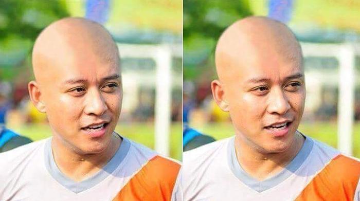Nói là làm, sau khi U23 Việt Nam thua trận trước người Thái, Tuấn Hưng đãnhanh chóng thực hiện lời hứađồng thời quay lại toàn bộ video cảnh xuống tóc của mình.