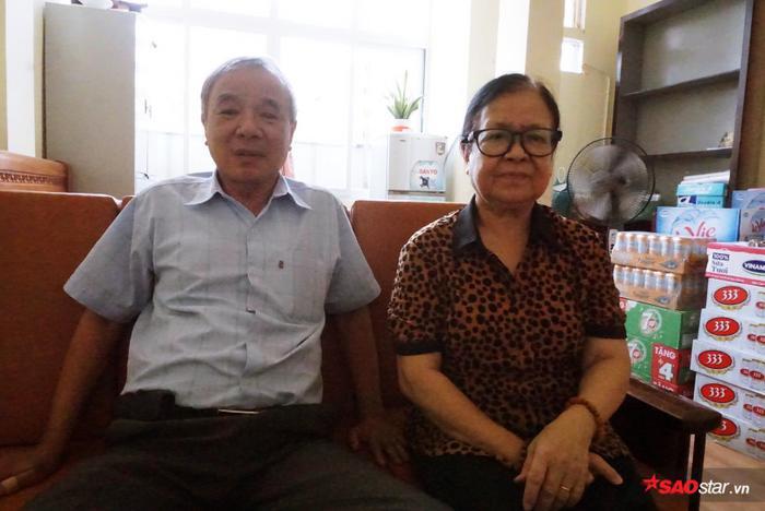 """Vợ chồng ông Vũ Tiến, người thành lập tổ gia đình trẻ em mồ côi """"xa mẹ""""."""