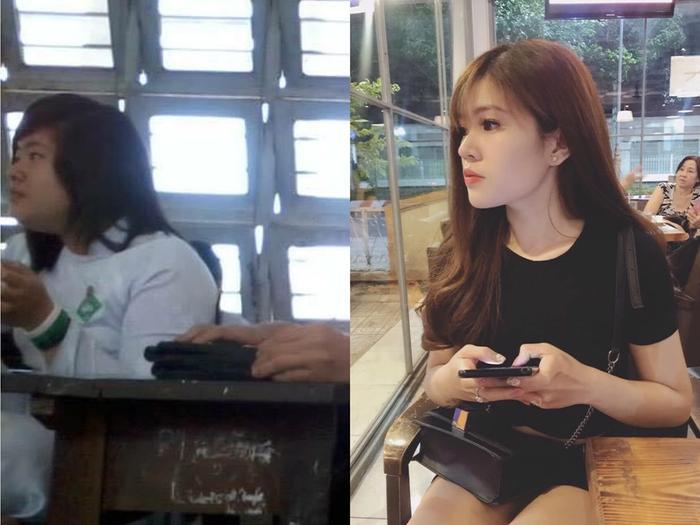 Màn lột xác ấn tượng của hotgirl Tiền Giang.