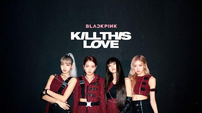 BlackPink với Kill This Love cũng góp mặt ở vị trí 50.