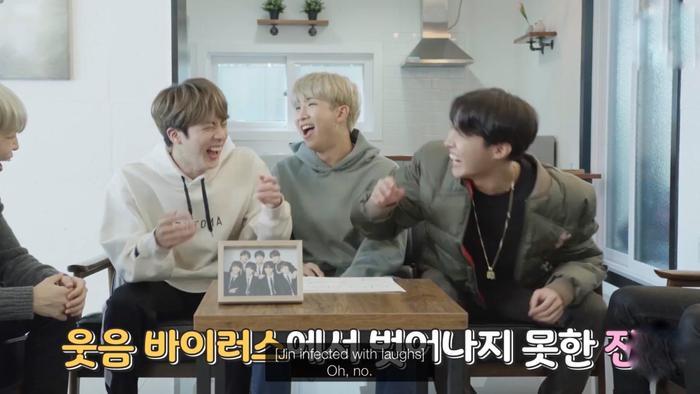 """""""Xin lỗi Jungkook nhé! Anh cười đây"""""""