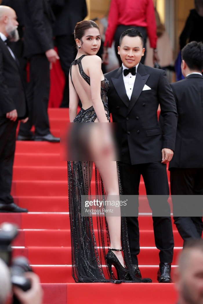 Bộ trưởng Văn hoá đang nghiên cứu hình thức xử phạt về việc Ngọc Trinh ăn mặc phản cảm tại Cannes ảnh 1