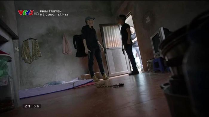 Việt Sói kịp thời chạy thoát khi cảnh sát ập đến.