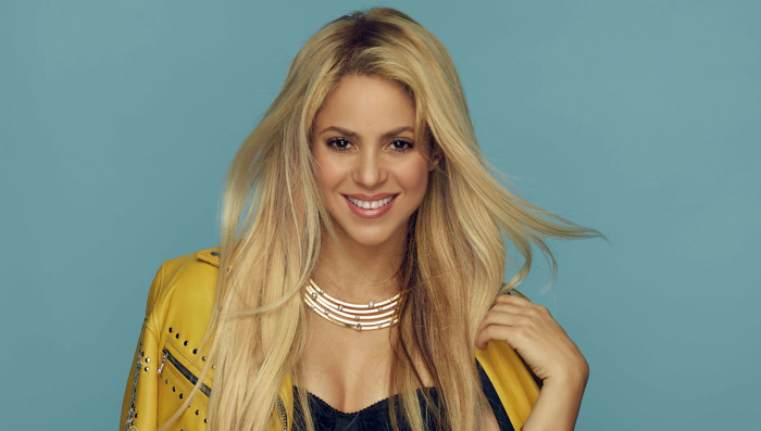 Shakira đã khẳng định mình với dòng nhạc Latin hoang dã.