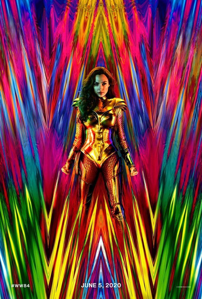 Wonder Woman 84 công bố teaser poster, nhá hàng trang phục mới của Diana ảnh 1